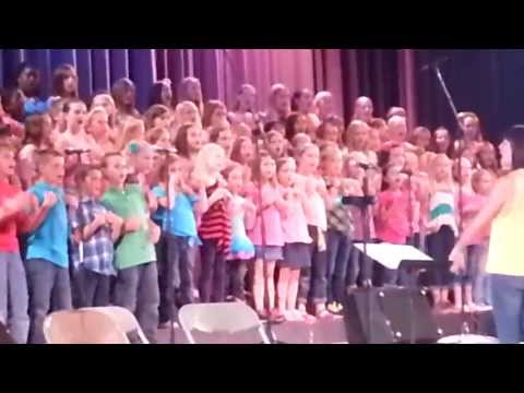 5.9.13 - Audrey and Jeanna - Chico Christian School Concert - 05/18/2013