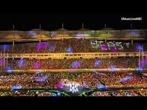 [hd] 130919 Beast Intro & Shadow & Beautiful Night  Mbc Incheon Korean Music Wave 2013 video