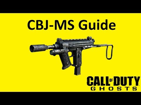 CBJ-MS Submachine Gun Weapon Guide Call of Duty Ghosts Best Soldier Setup
