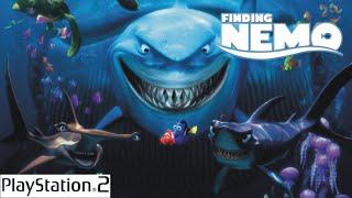 Procurando Nemo O jogo - Finding Nemo  The game - Playstation 2 - PS2