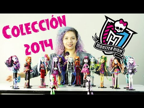 Mi Colección Monster High 2014