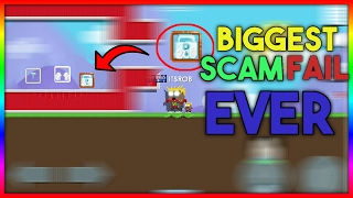 BIGGEST SCAM FAIL EVER? TOP 3 BIGGEST SCAM FAILS - GROWTOPIA