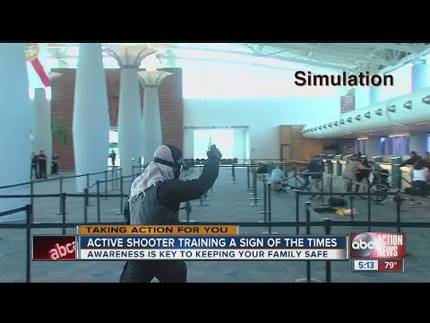 Tampa police hold active shooter training at port to emphasize preparedness