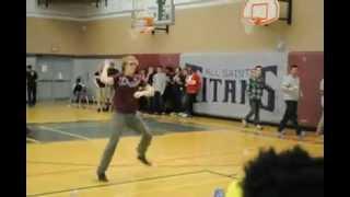 Gangnam Style Flash Dance At All Saints High School