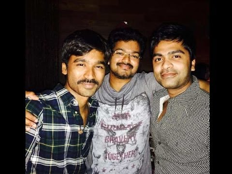 Simbu had a blast in midnight with Vijay and Dhanush | Hot Tamil...