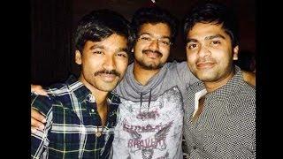 Simbu had a blast in midnight with Vijay and Dhanush | Hot Tamil Cinema News