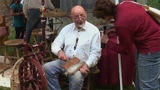 Spinning and Weaving Goat Fiber, More From Hudson Valley Fiber Farm - lk2g-049