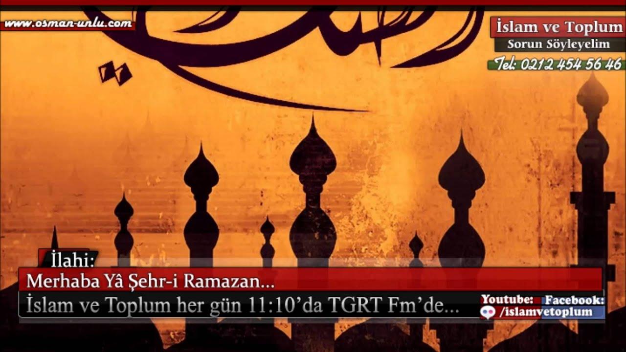 Merhaba Ya Şehr-i Ramazan - Müziksiz İlahi