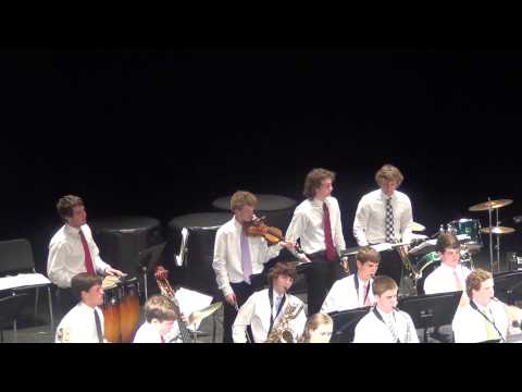 Collegiate School Jazz Band: Director M. Boyd. Jazz song #1