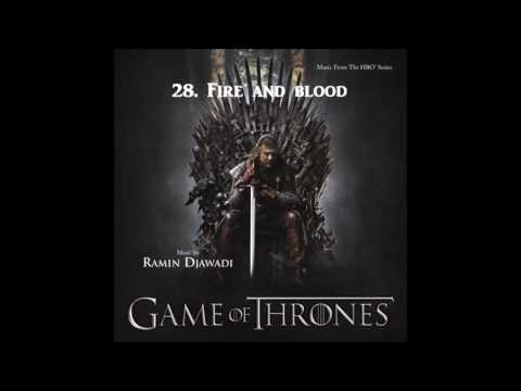Game of Thrones (SEASON 1 OST) - 28. Fire And...