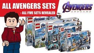 ALL LEGO Avengers Endgame Sets