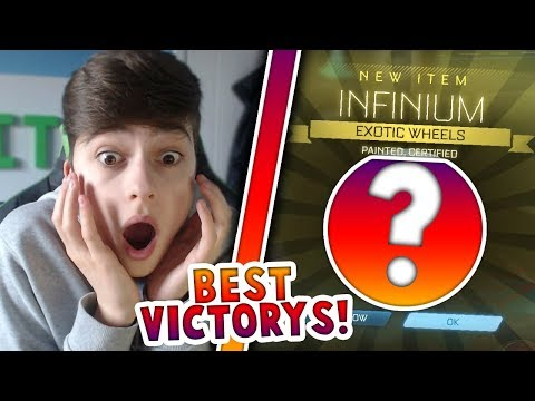 YOU WONT BELIEVE THE PAINTED LUCK | VICTORY CRATE OPENING | Rocket League
