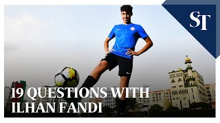 19 questions with Ilhan Fandi | The Straits Times