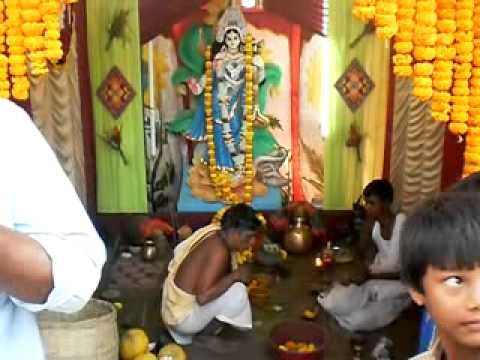 Saraswati Puja 2011 By  Balak Sangha (mantra) video