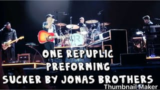 One republic performing jonas brothers at #bsmf19 on May 4th 2019