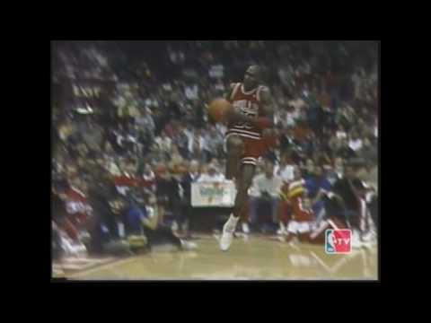 Michael Jordan vs Dominique Wilkins : 1988 Slam Dunk Contest [Classics]