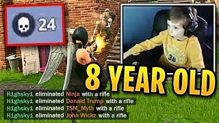 Is This 8 Year Old Better Than Ninja? | Fortnite Best Moments #67
