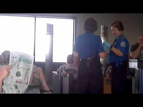 TSA liquid testing inside terminal at Columbus OH Airport   YouTube