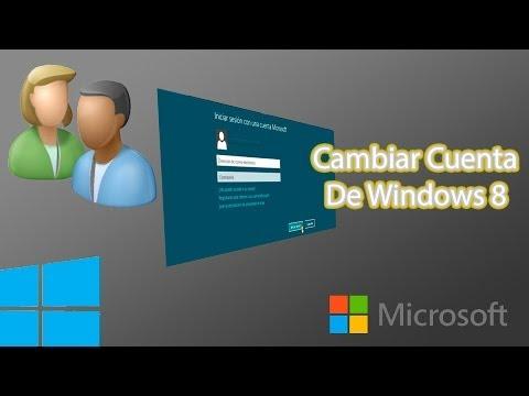 Cambiar la Cuenta Microsoft en Windows 8 & 8.1