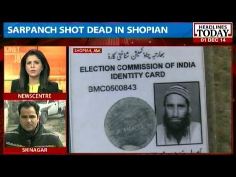 Kashmir: Sarpanch's murder was a political killing