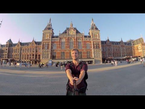 Een jaartje reizen in Nederland - De Epic 400 stationsselfie