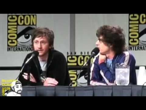 """HOT ROD (from The """"dick In A Box"""" Guys) At Comic-Con 07"""