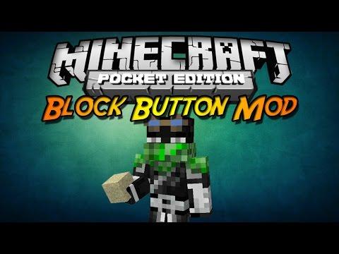 Minecraft PE 0.10.X ModScript Block Button Mod Español