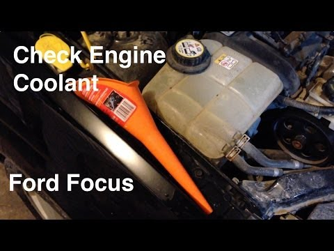 2000-2007 Ford Focus Coolant/Antifreeze Reservoir