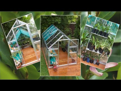 Easy DIY Sleeper Deck & Greenhouse