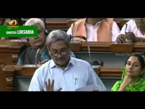 Manohar Parrikar Speech In Parliament | Pathankot Attack Is An Accumulation Of Asymmetric War