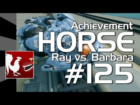 Halo 4 - Achievement HORSE #125 (Ray vs Barbara)