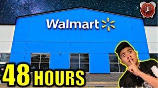 48 HOUR OVERNIGHT CHALLENGE IN WALMART!!!