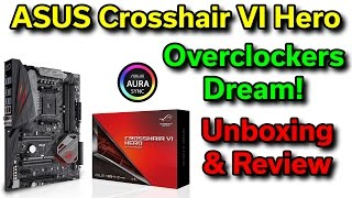 ASUS ROG Crosshair VI Hero - X370 - Review