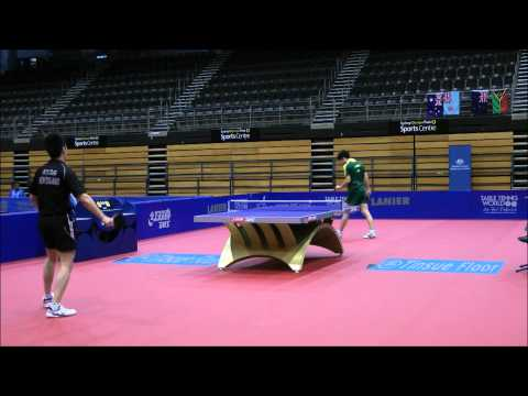 Oceania Olympic Qualification Phillip Xiao v Justin Han Stage 1 Round Robin