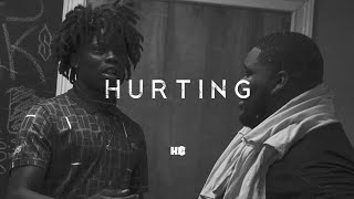 """Rod Wave Type Beats x GlokkNine """"Hurting""""   Up Tempo Rap Instrumental With Vocal Chops"""