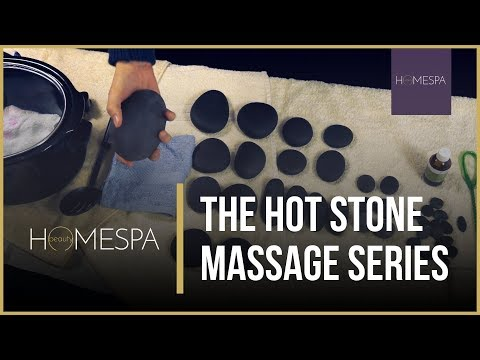 Hot Stones Massage Techniques - Complete Series