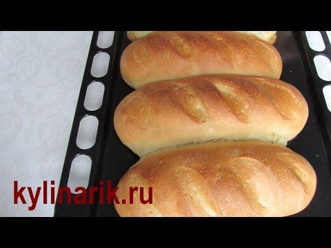Как приготовить белый хлеб - видео