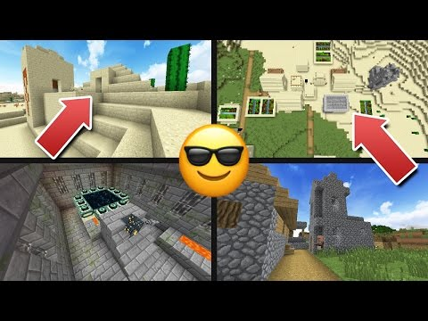 VILLAGE AND TEMPLE AT SPAWN! - Top Minecraft 1.11 Seed