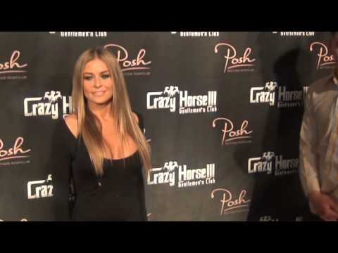 Dennis Rodman's Ex-wife Carmen Electra celebrates her 41 st birthday at Crazy Horse III vegas 2013