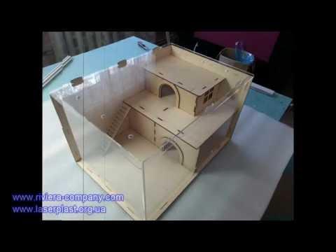 Как из коробки сделать домик для хомяка своими руками