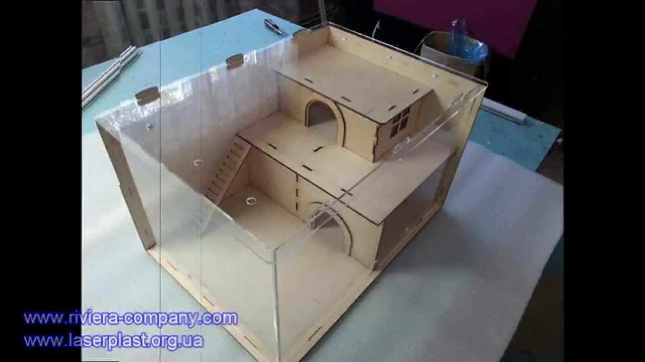Как сделать хомяку домик из картона
