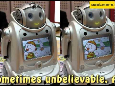 Futuristic Robots at the International Robot Exhibition
