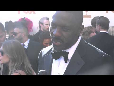 Idris Elba on the 63rd Emmy's Red Carpet