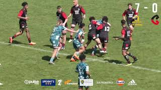 HIGHLIGHTS - Highlanders u18 Schools vs Crusaders Junior XV