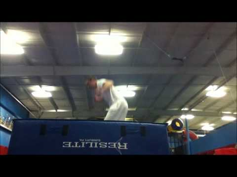 The CRAZY New Sport of Trampoline Bounce Boarding