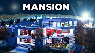 HOLLYWOOD MANSION - The Sims 4 Build