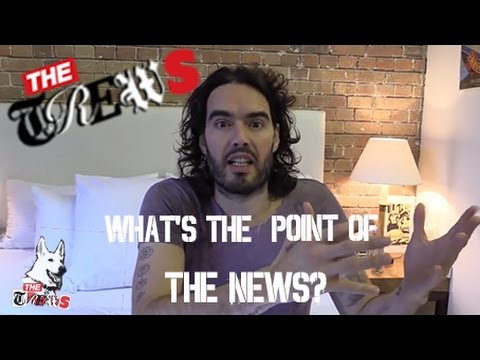 What's The Point Of The News? Russell Brand The Trews Comments (E204)
