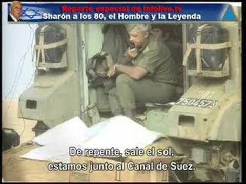 Reporte especial de Infolive.tv: Sharón a los 80 - El Hombre
