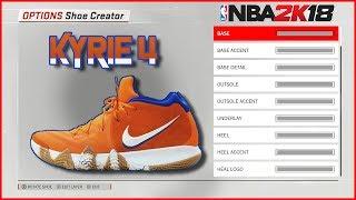 NBA 2K18 Shoe Creator | Kyrie 4 Wheaties