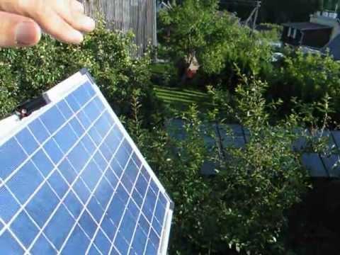 Солнечные трекеры своими руками
